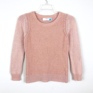 Anthropologie Sparrow Knit Pink Sweater